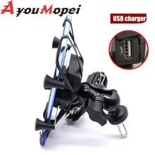 GPS support pour téléphone USB chargeur pour SUZUKI GSX1300R HAYABUSA 1999-2020 19 17 15 GSX 1300R moto interphones support de Navigation