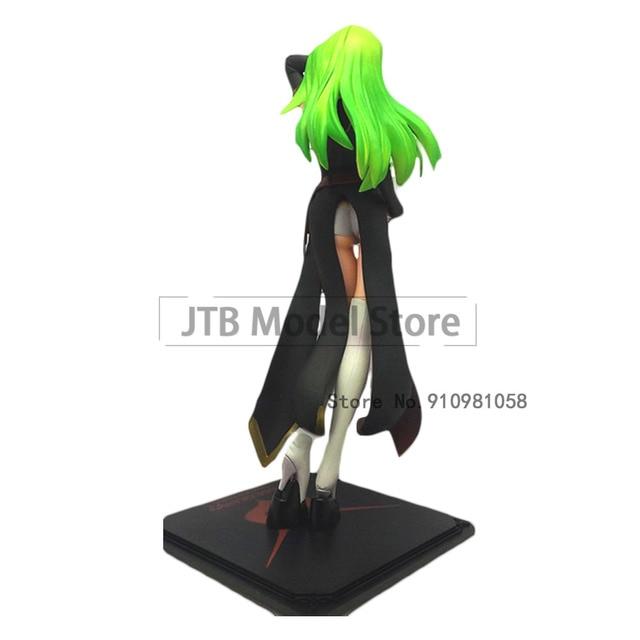 Code Geass GK CC Japan Model Movable Action Figure Anime Toys For Kids Cartoons Desktop Decoration 23CM PVC Sexy Girl Gift Figma 2