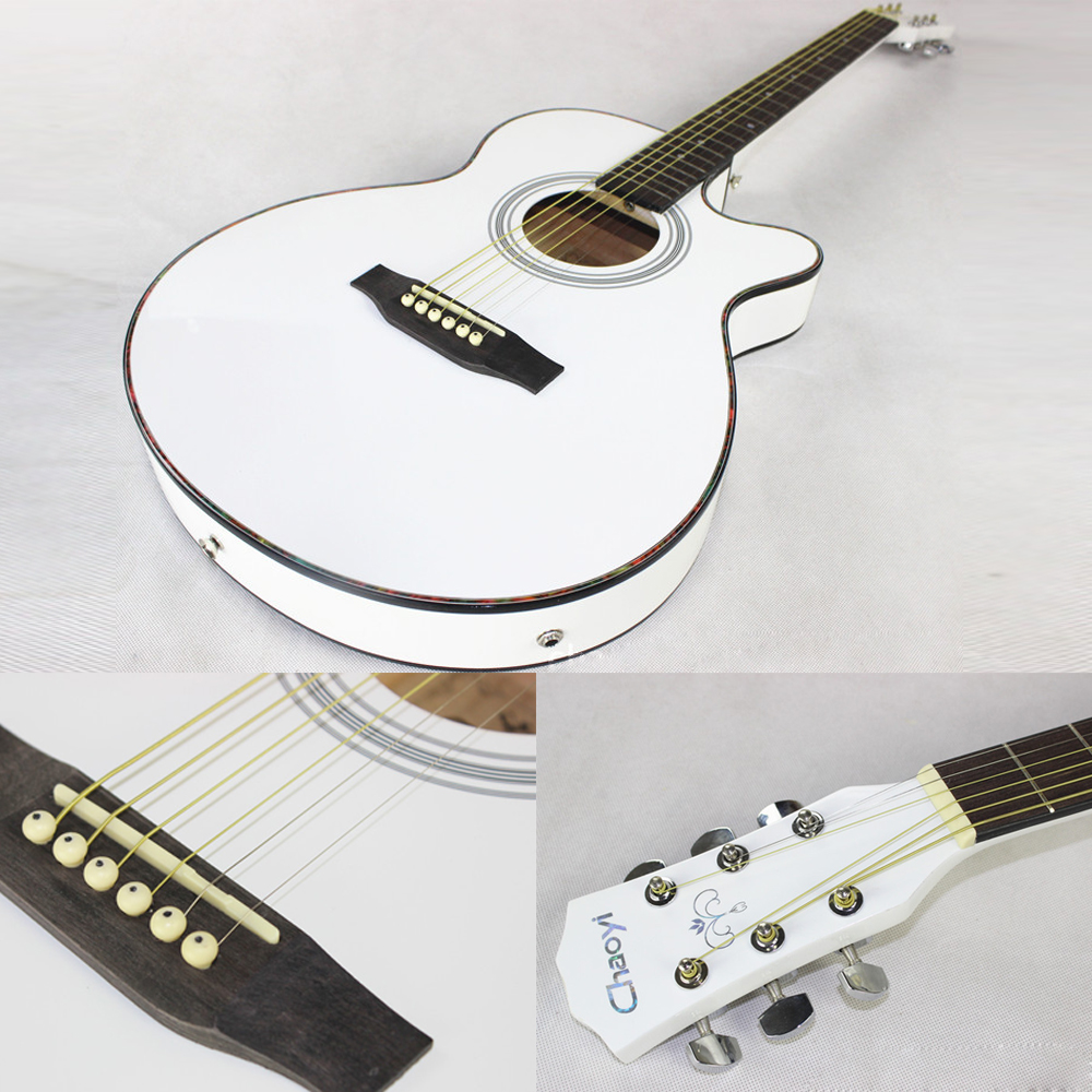 40 inch Electric Acoustic 6 String Guitar Pick up Equipment Steel Strings Folk Guitar Pop Guitar Profession Guitarra AGT122 - 4