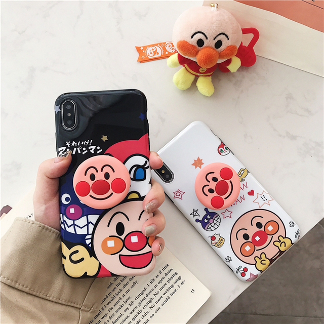 Hot Cute Japan Anpanman Case For iPhone