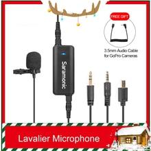 Saramonic LavMic 2-Kanal Audio Mixer mit Lavalier-mikrofon Kit für iPhone 8 GoPro Sitzung Canon Nikon DSLR Kamera recorder