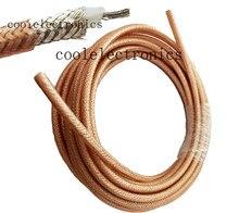 10m rg400 duplo blindado trança de cobre rf cabo coaxial conector do cabo RG-400 cabo coaxial 50ohm 50cm 1m 2m 3m 5m 15m 20m