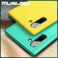 Роскошный чехол Musubo для samsung Galaxy Note 10 + 5G Note 10 Plus  силиконовый чехол на заднюю панель s  чехол для samsung S10 + S10E  Ультратонкий чехол чехол на S10+