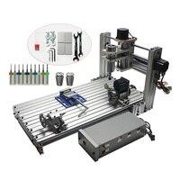 CNC 3060 in Wood Routers Mini DIY3060 Milling Drilling Machine USB Port Mach3 Wood Aluminum Carving Machine CNC Router