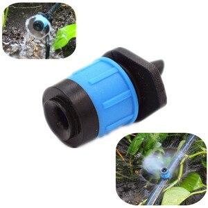 Image 1 - 高速配送 300 個調節可能な渦スプレー点滴灌漑システムバブルドリッパーエミッタ水まきマイクロドリップ継手