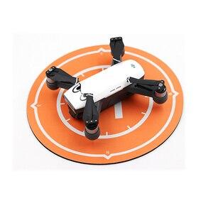 Image 2 - Plataforma de aterrizaje para Dron DJI Spark, accesorios para Mini Dron, delantal de estacionamiento de escritorio impermeable, amortiguador de bujía plegable de 25cm