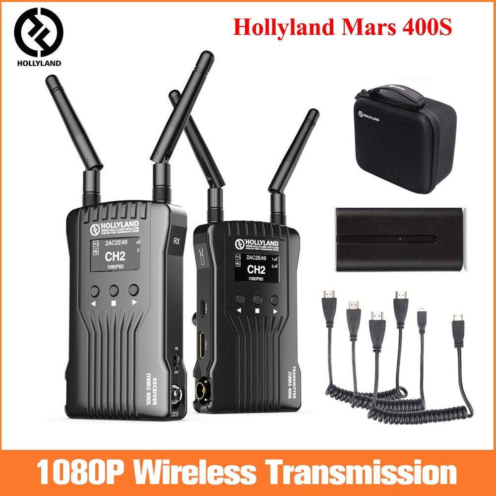 Hollyland Mars 400S transmetteur vidéo sans fil récepteur SDI/HDMI pour appareil photo reflex numérique, système de Transmission vidéo WIFI 1080P HD
