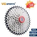 VG спортивный горный велосипед MTB 9 скоростная кассета 9 велоцидада Casette 9 S 40T части велосипеда Звездочка свободного колеса cdg xg 517g