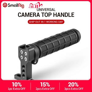 Image 1 - SmallRig Rubber Top Handle Grip with Top Cold Shoe Base for DSLR Camera Cage Video Camcorder Action Stabilizing Universal 1446