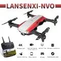 LANSENXI NVO Профессиональный Дрон для камеры 1080 p/4 K HD WiFi FPV щетка Пропеллер для мотора длинная батарея воздушный Дрон на ру Квадрокоптер