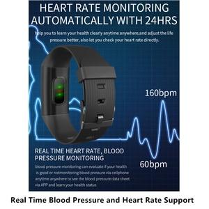 Image 3 - Pulsera inteligente L8star para hombre y mujer, reloj inteligente deportivo con control del ritmo cardíaco y de la presión sanguínea y Contador de pasos