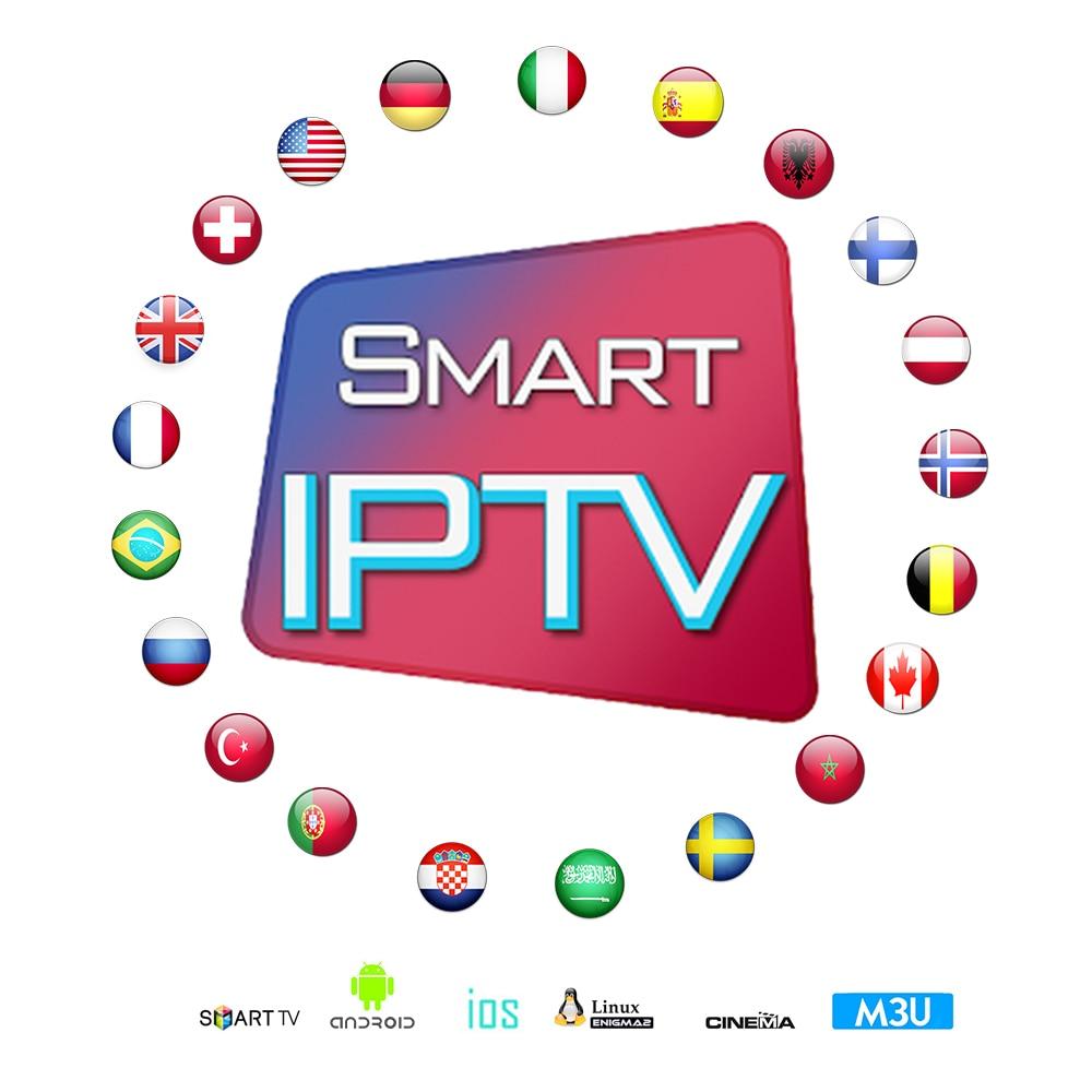 Stable IPTV Spain Subscription 4K IPTV M3U France 8000+Live Channels IPTV Portugal 1 Year Abonnement For Smart TV Android TV Box