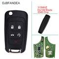 DJBFANDEA 315 МГц Автомобильный Брелок дистанционного управления с ключом для Chevrolet Cruze Equinox Malibu Camaro 2010 2011 2012 2013 2014 2015 2016
