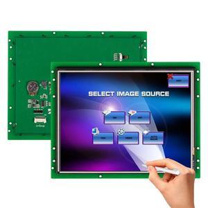 10,4 дюймовая программируемая панель ЖК-дисплея с сенсорным контроллером + последовательный интерфейс поддерживает любой MCU 100 шт.