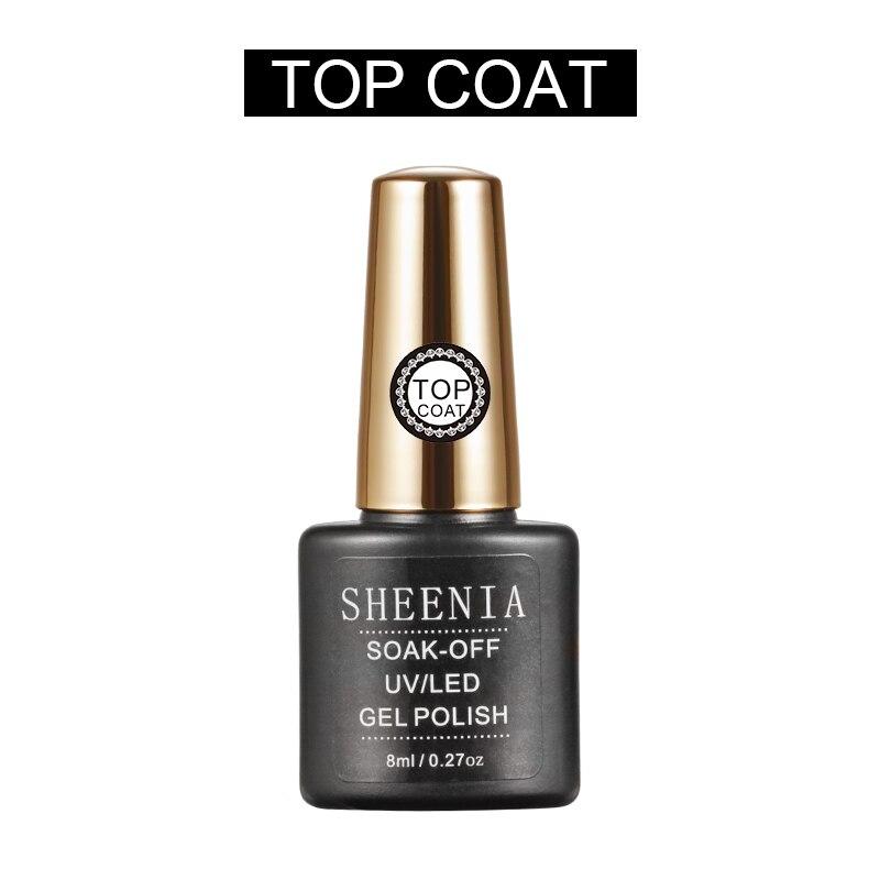 2021 Новый Sheenia TC025 лаки для ногтей УФ гель лак для ногтей прозрачный био-Гели Soak Off грунтовка Гель-лак для ногтей, гель лак для нейл-арта