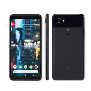 Image 2 - גוגל פיקסל 2 XL 6.0 אוקטה Core 4G LTE מקורי חדש אנדרואיד 8. 0 2880*1440 4GB RAM 64GB 128GB ROM טלפון נייד טביעת אצבע