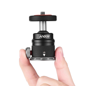 Image 3 - Andoer חצובה כדור ראש הר פנורמי 360 ° מסתובב 180 ° להעיף אוניברסלי 1/4 הרכבה עבור DSLR ראי מצלמה חצובה הרכבה