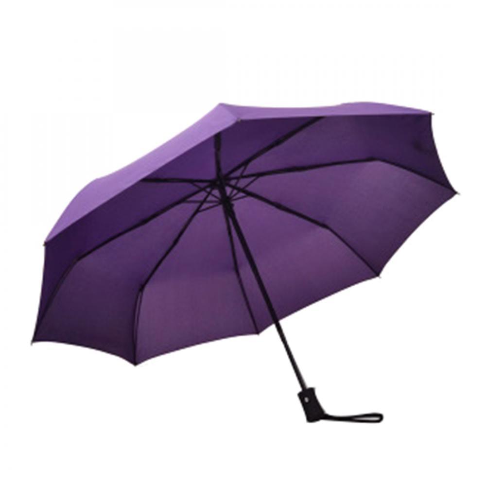 Windproof Travel Umbrellas Waterproof Parapluie Three Folding Metal Shaft Pongee Fabric Paraguas Compact Women Men Umbrellas in Umbrellas from Home Garden