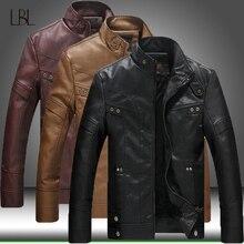 Herbst Winter Männer Motorrad Leder Jacke Herren Outwear Warme PU Baseball Jacken Männlichen Casual Bomber Mantel 2020 Neue Windjacke