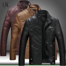 Sonbahar kış erkekler motosiklet deri ceket erkek giyim sıcak PU beyzbol ceketleri erkek rahat bombacı ceket 2020 yeni rüzgarlık