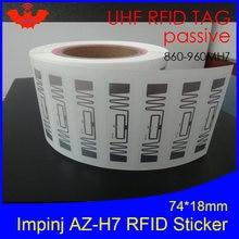 Rfid наклейка uhf nxp ucode7 микросхема инкрустация 900 915