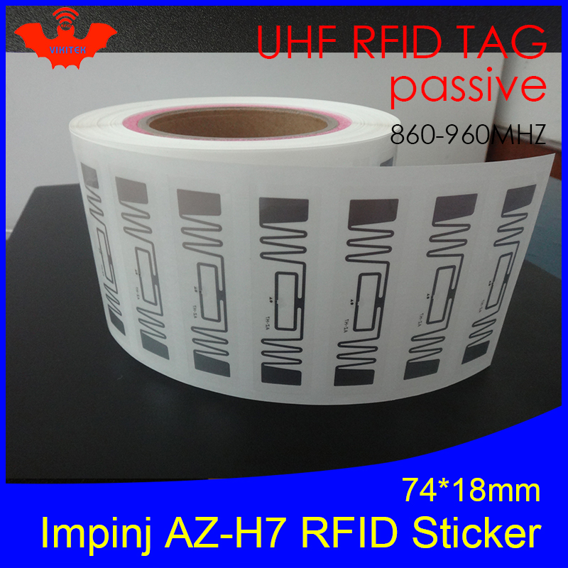 RFID Sticker UHF NXP Ucode7 Chip AZ-H7 Inlay 900 915 868mhz 860-960MHZ Higgs3 EPCC1G2 6C Smart Card Passive RFID Tags Label