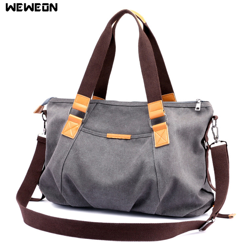 Women's Canvas Gym Bags Durable Sport Bag For Fitness Handbag Lady's Crossbody Travel Duffel Tote Yoga Handbag Party Package