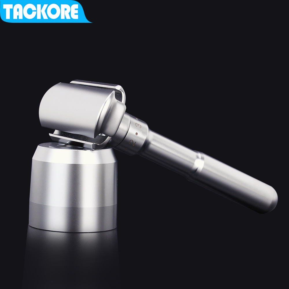 Tackore Alloy Safety Razor For Men Adjustable 1-6 Files Close Shaving Classic Double Edge Razors For Men