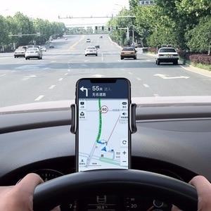 Универсальный держатель для мобильного телефона, GPS, автомобильный держатель для приборной панели, подставка для телефона, Hud, зажим на колыбель, кронштейн для телефона на 4 6 дюймов, вращение на 360 градусов|Подставки и держатели|   | АлиЭкспресс