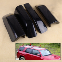 CITALL 4PCS Car Roof Luggage Rack Rail End Shell Cover fit for Toyota 4Runner N280 2010 2011 2012 2013 2014 2015 2016 2017 2018