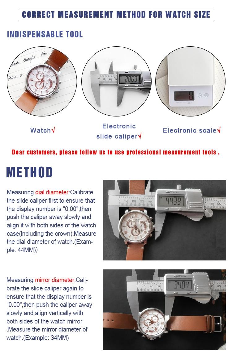 lujo zegarek de Descuento 11