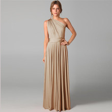 Beauty-Emily Long Sexy Cheap Bridesmaid Dresses Chiffon Slee