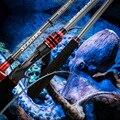 Рыболовная удочка-Осьминог с чувствительным наконечником, удочка для лодки для джиггинга, 1,6 м/1,75 м, мощная для крупной рыбы