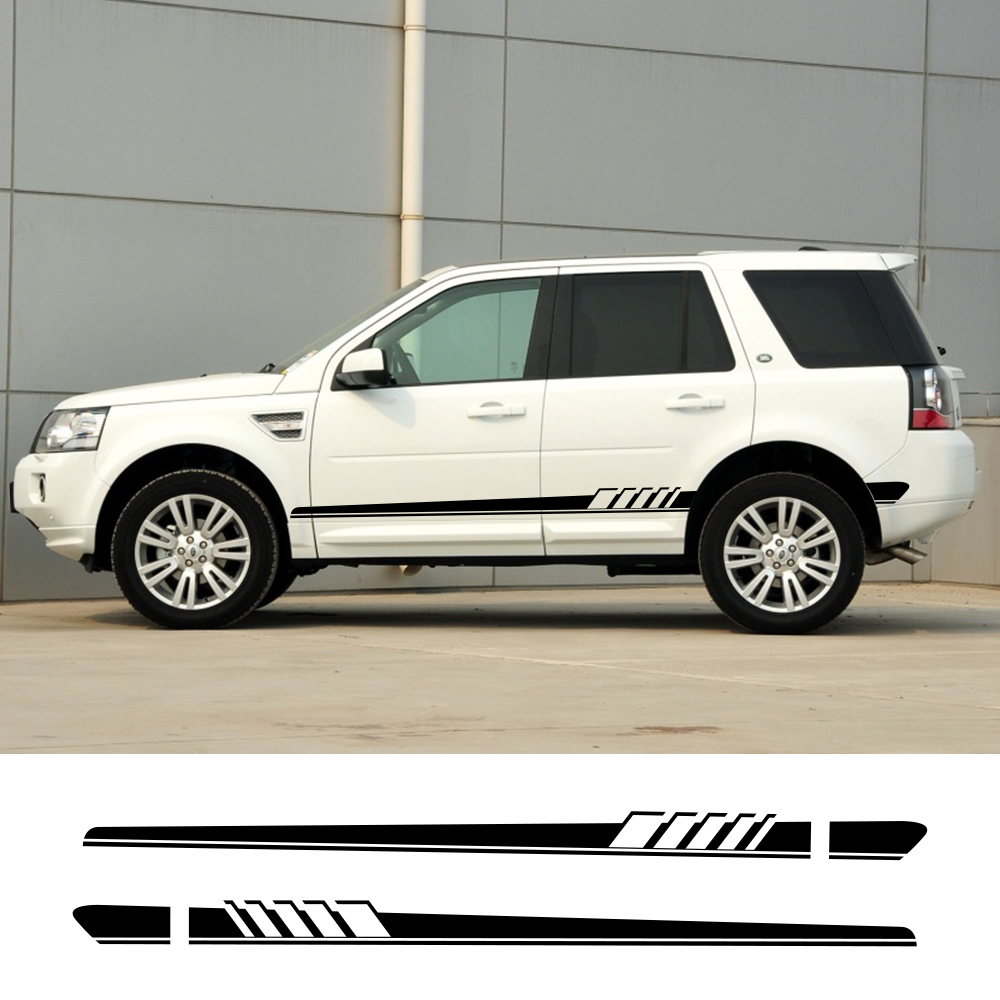 2Pcs For Land Rover Discovery 3 4 2 Freelander 2 1 Evoque Velar Car Sticker Auto Vinyl Film Decal Styling Car Tuning Accessories|Car Stickers| |  - title=