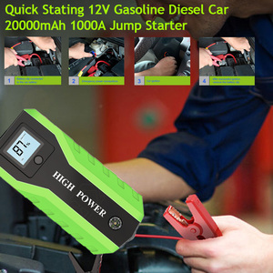 GKFLY 1000A Starting Device Cable 20000mAh 12V Car Jump Starter Power Bank Petrol Diesel Car Battery Booster Charger Car Starter(China)