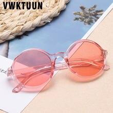 Детские солнцезащитные очки vwktuun круглые 2020 очков для девочек