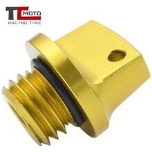 Crankcase Cap CNC Engine Oil Filler Screw Cover Plug M20*2.5 For Yamaha Tmax500 2008-2016 Tmax530 Tmax 530 2013-2017 MT09 FZ09