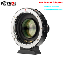 Viltrox EF-M2II Auto-Focus Speed Booster Adapter Focal Reducer 0.71x Voor Canon Ef Mount Lens Voor Panasonic Olympus M4 /3 Camera
