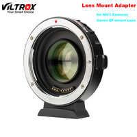 Viltrox EF-M2II Auto-focus Speed Booster Adapter reduktor ogniskowy 0.71x do Canon EF mocowanie obiektywu do Panasonic Olympus M4/3 Camera