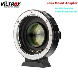 Viltrox EF-M2II Auto-fokus Speed Booster Adapter Focal Reducer 0.71x für Canon EF Mount Objektiv für Panasonic Olympus M4 /3 kamera