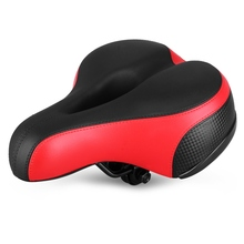 где купить Bicycle Seat Saddle Hollow Reflective Breathable Shock Absorption Spring Front Seat Mat Cushion Seat For Bike Cycling Accessory по лучшей цене