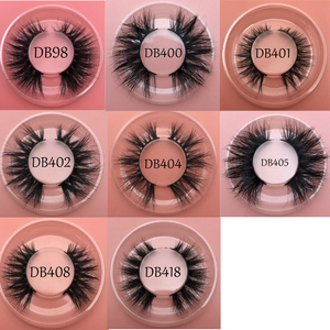 Image 4 - Buzzme Hot selling 3D real mink eyelashes free shipping custom packaging mink fur lashes