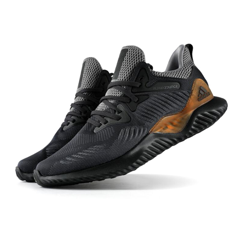 Original Adidas AlphaBounce Ultra Boost Pour Hommes Chaussures de Course Fitness Respirant Absorption des Chocs Protection Tennis Baskets AC8273 - 2