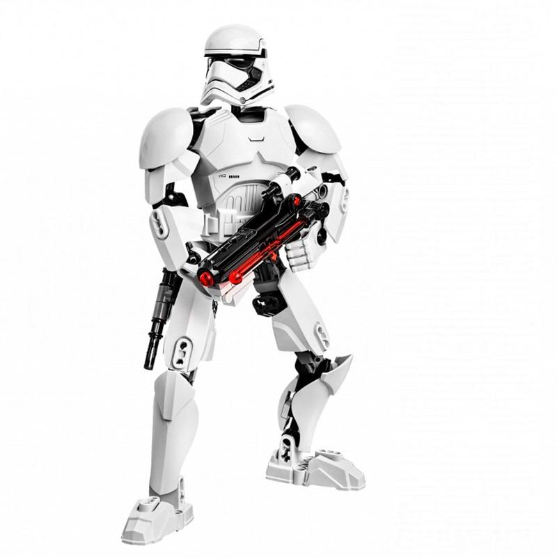 Star Wars Boba Fett Darth Maul Kylo Stormtrooper Phasma Ren Rey Vader Model Assemble Figure Construction Toys For Children 21
