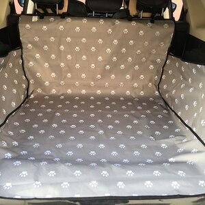 Image 4 - Caseta de CAWAYI Protector para asiento de coche para perros, alfombrilla para maletero, transporte para gatos y perros