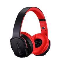 Auriculares plegables, inalámbricos por Bluetooth, auriculares estéreo de moda deportiva para correr, altavoz MH2 y auriculares 2 en 1 para Android IOS