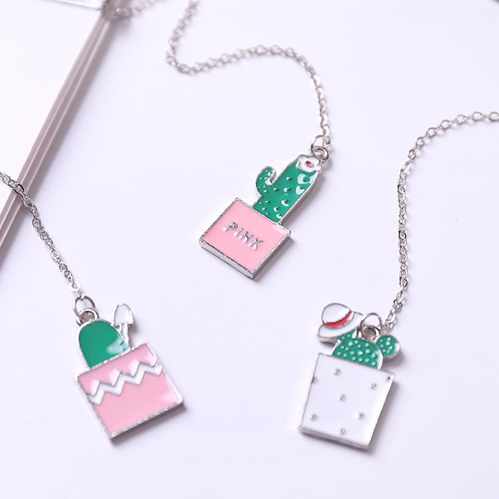 Hot Novelty Metal Marker Bookmark Page Chain Pendant Bookmark Clip Study Office Stationery Reading Book Marker Gifts