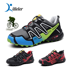 Profession Bike Shoes Men Mountain Bike Bicycle MTB Sneakers Cycling Shoes Road Reflective Cycle Triathlon Racing Footwear