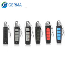 GERMA 433MHZ Remote Control 4 Channe Garage Gate Door Opener Remote Control Duplicator Clone Cloning Code Car Key