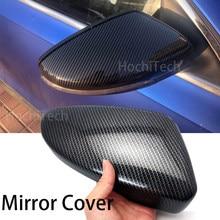 De carbono cubierta de espejo lateral tipo alerón para VW Golf 7,5 MK7 7 GTD R GTI 6 Passat B7 CC Scirocco Polo 6R 6C MK6 tapa para Jetta 6 MKVI